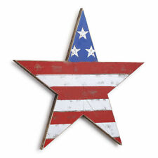 USA Star American Flag Americana Wall Art Wood New Red White and Blue