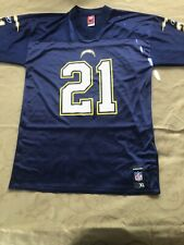 New listing San Diego Chargers Tomlinson Navy Authentic Reebok NFL Jersey XL