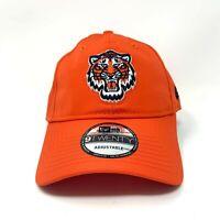 Detroit Tigers New Era Hat Adjustable Cap Strapback Dad Hat Orange