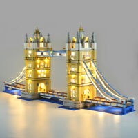 LED Beleuchtung Licht Kit Für LEGO 10214 London Tower Bridge Spielzeug DIY Light