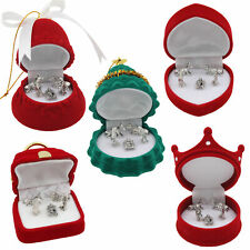 Miniature Nativity Metal Figures in Gift Box Christmas Decoration