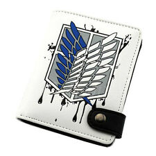 Anime Attack on Titan Wallet Purse Cosplay Accessory Bag Collectible Toy Gift