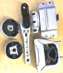 5PC ENGINE AND TRANSMISSION MOUNT FOR 2006-2010 VOLKSWAGEN JETTA 2.5L FAST SHIP