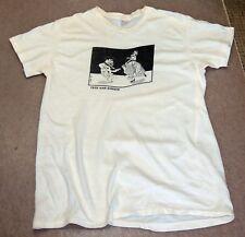 VINTAGE Fred & Ginger t shirt Flintstone Astaire Rogers 1980s The Flintstones
