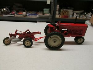 TRU-SCALE TRACTOR AND TWO BOTTOM PLOW