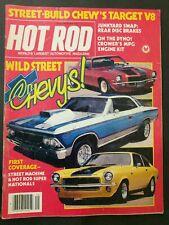 Hot Rod Magazine  Chevys Wild Street Rear Disc Brakes September 1981 #M111