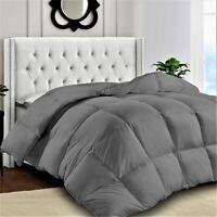 Hypoallergenic Microfiber Fill Quilted Comforter King Queen Bedding Comforter
