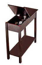 Beistelltisch Aufbewahrungsfach Wohnzimmer Bar Tisch Holz Sofa Truhe Holztisch