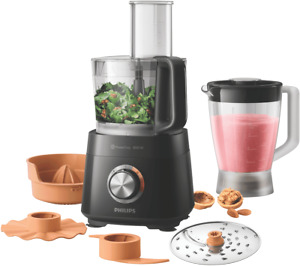 NEW Philips HR7510/11 Food Processor with Jug and Citrus Press