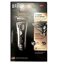NEW BRAUN Series 9 9295CC TITANIUM Wet/Dry Mens Electric Shaver +Clean & Charge