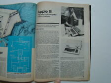 Popular Science Magazine 1 Page Article on New Apple III Computer December 1980