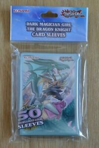 Yu-Gi-Oh! 50 small Card Sleeves Hüllen Dark Magician Girl the Dragon Knight
