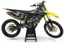 Suzuki RM RMZ RMX DRZ 85 125 250 400 450 Motocross Enduro Graphics Kit Decals MX