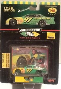 Racing Champions 1998 Chad Little #97 John Deere Promo Racing NASCAR Car Mint