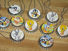 baby looney tunes toons lot of 15 necklaces necklace  cute loot bag party favors