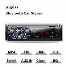Aigoss Bluetooth Car Stereo 4x60W Digital Media Receiver Remote Control