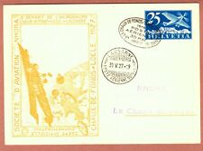 Switzerland 1927 Postcard Societe d'aviation Nhora - Commemorative Card