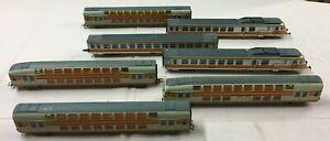 JOUEF PLAYCRAFT Modelisme Ferroviaire Echelle HO Lot 7 VOITURES de VOYAGEURS Y71