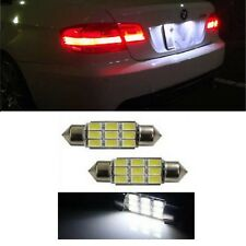 PREMIUM BMW E46 E39 E60 E90 Error Free Xenon White LED Number Plate Lights Bulbs