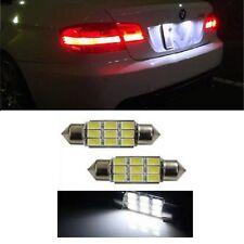 PREMIUM BMW E46 E39 E60 E90 Error Free Xenon White LED Number Plate Lights Bulbs