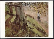 Artists Postcard - John Constable - Study of Tree Trunks   LC5407