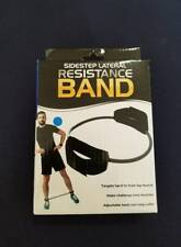 New! Sidestep Lateral Resistance Band Training Exercise Hips Thighs Core Butt