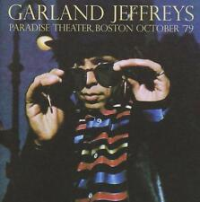 GARLAND JEFFREYS – LIVE AT PARADISE THEATER, BOSTON OCTOBER '79 (NEW) CD
