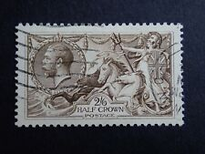 2s6d USED GEORGE V SEAHORSE - UNKNOWN COLOUR OR PRINTER - REF Z11