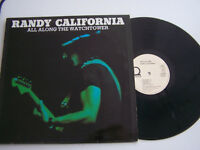 LP 33 TOURS , RANDY CALIFORNIA , ALL ALONG THE WATCHTOWER . VG  / EX . ALLEMAGNE