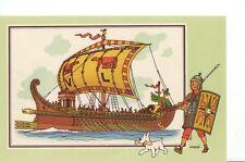 Herge Tintin Chromo Voir Savoir marine serie 1 n 5 collection A