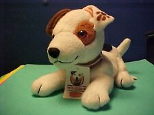 Denny's Promotional Stuffed Plush Wishbone the Jack Russell TV Dog beannie baby