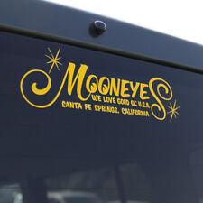 Aufkleber Mooneyes We love good ol´ U.S.A, gelb California Kulture Racing