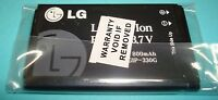 LG Original LGIP-330G 800mAh Li-Polymer Cell Phone Battery For LG KF300 Flip
