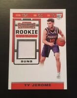 TY Jerome 2019-20 Panini Contenders Rookie Ticket Relic #RTS-TJR   Suns RC