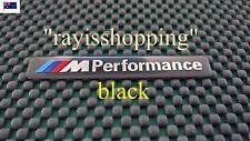 BLACK BMW M Performance Badge, Sticker Decal Sticker M1 M3 M4 M5 M6 X3 X5 X6