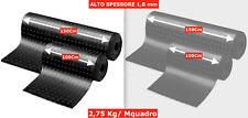 PAVIMENTO PVC BULLONATO o GRECATO COPRIPAVIMENTO GRIGIO - NERO a Mquadro HIGH QU