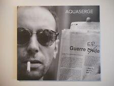 AQUASERGE : GUERRE CIVILE EP [ CD DIGIPACK ]