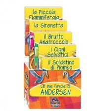 LIBRO LE MIE FAVOLE DI ANDERSEN - COFANETTO 5 LIBRETTI