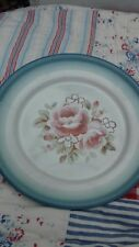 Cath Kidston Enamel Plate Rose Design