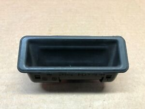 2008 BMW 535i E60 REAR TRUNK LID RELEASE HANDLE SWITCH BUTTON BLACK 7118158 OEM*