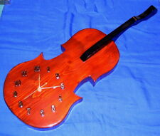Violin Clock ~ Hand-crafted and Finished ~ Full Size