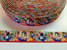 "5 Yards 7/8"" snow white Grosgrain Ribbon Hair Bow Supplies."