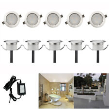 10x31mm Low Voltage Cool White LED Deck Light Yard Garden Landscape Stairs Path