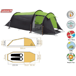 Coleman Pictor X2 Tent - 2 man tent with porch, Brand New + Tags - Cycle Touring