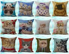 *US SELLER*lot of 10 wholesale cushion covers cat dog panda cute decorative