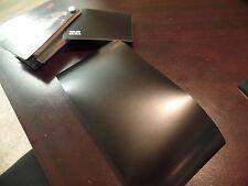 "3M 1080 S12 Satin Black Vinyl Wrap Sample piece 5""x 9"""
