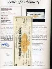 Benjamin Harrison Jsa Coa Hand Signed 1875 Check Authenticated Autograph