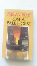 ON A PALE HORSE PIERS ANTHONY 1st '84 FANTASY BOOK INCARNATIONS OF IMMORTALITY#1
