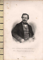 C1830 Georgiano Stampa ~ Lieut-General Sir James