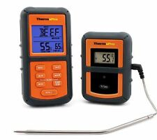 Digital Multifunction Wireless Remote Cooking Smoker Meat BBQ Thermometer